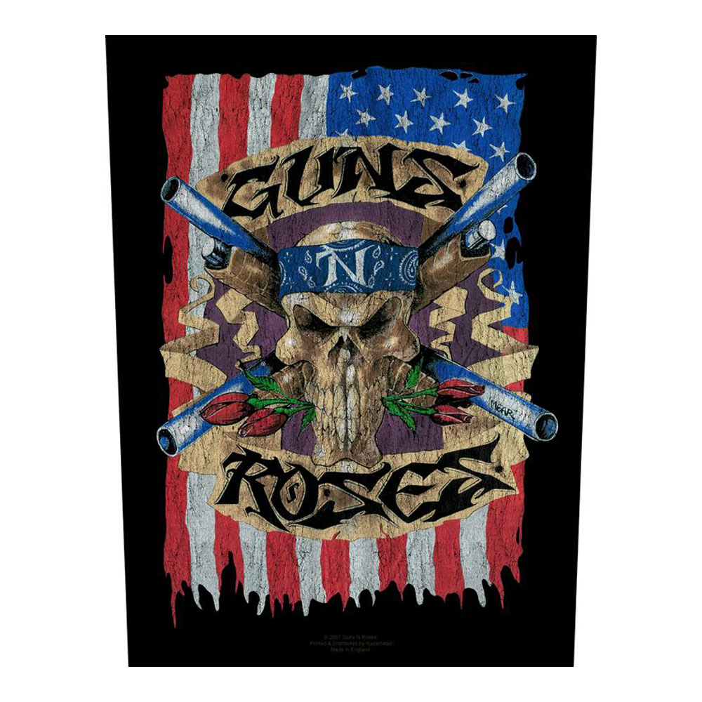 Guns N Roses - Guns N Roses Flag (Backpatch)