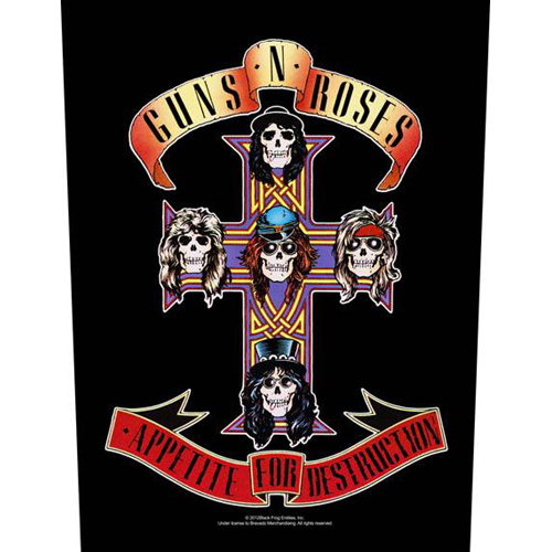 Guns N Roses - Appetite For Destruction (Backpatch)