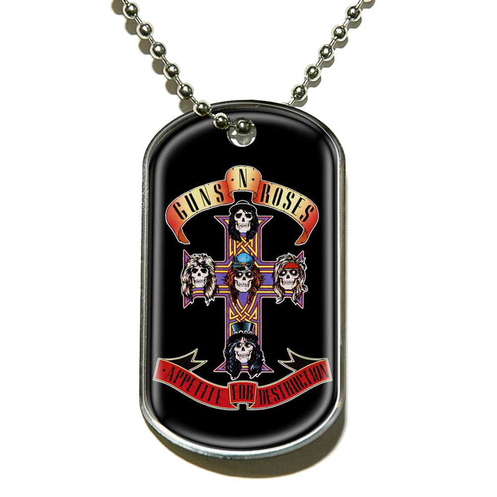 Guns N Roses - G N R Appetite (Dog Tag)