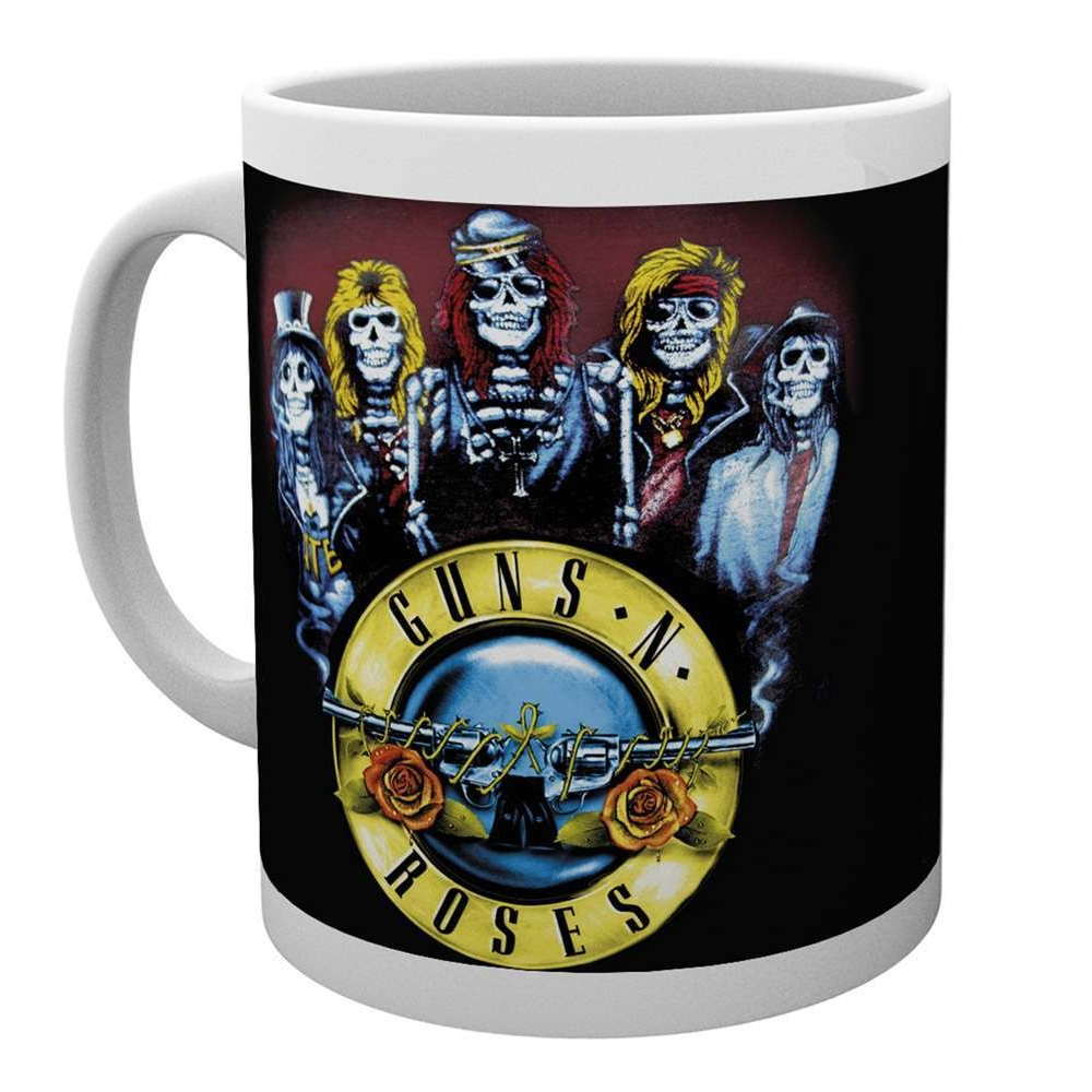 Guns N Roses - Skeleton (White Mug)
