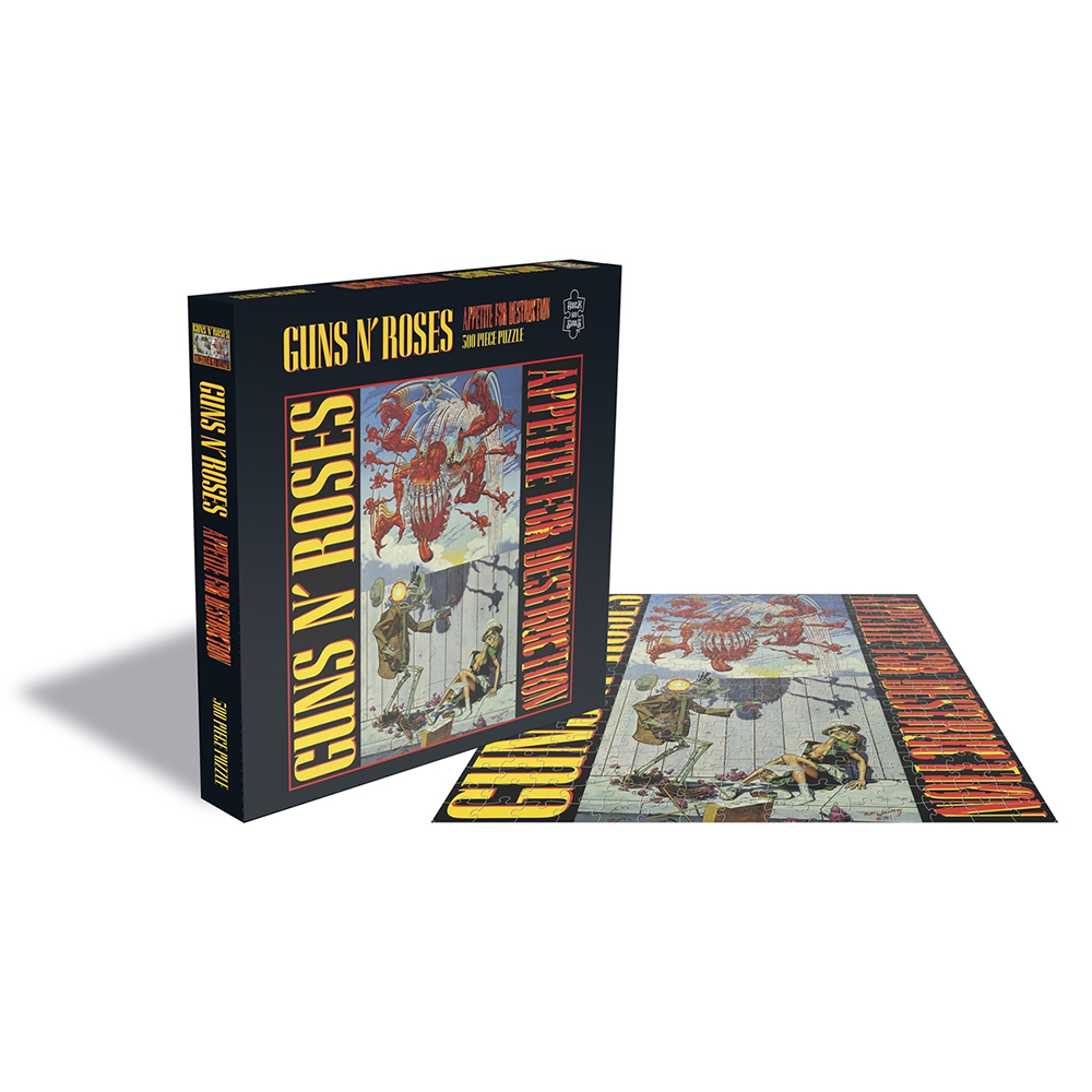 Guns N Roses - Appetite For Destruction 1 (500 Piece Jigsaw Puzzle)