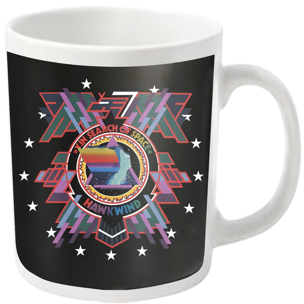 Hawkwind - In Search Of Space (White Mug)