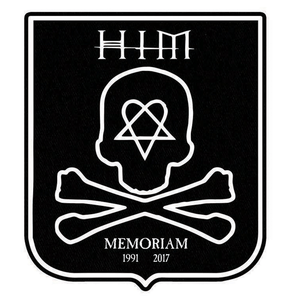HIM - HIM Back Patch