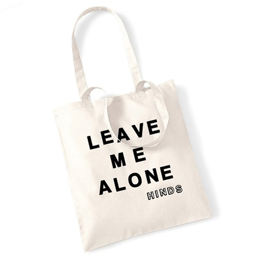 HINDS - Leave Me Alone Tote Bag (Natural)