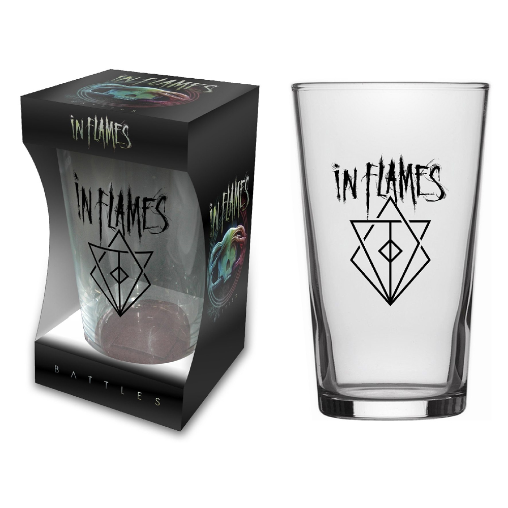 In Flames - Battles (Beer Glass)