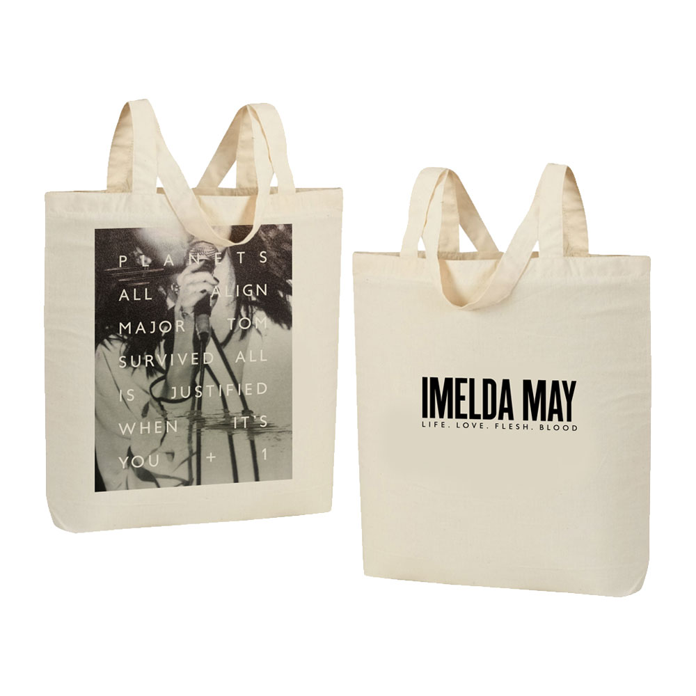 Imelda May - Tote Bag (Ecru)