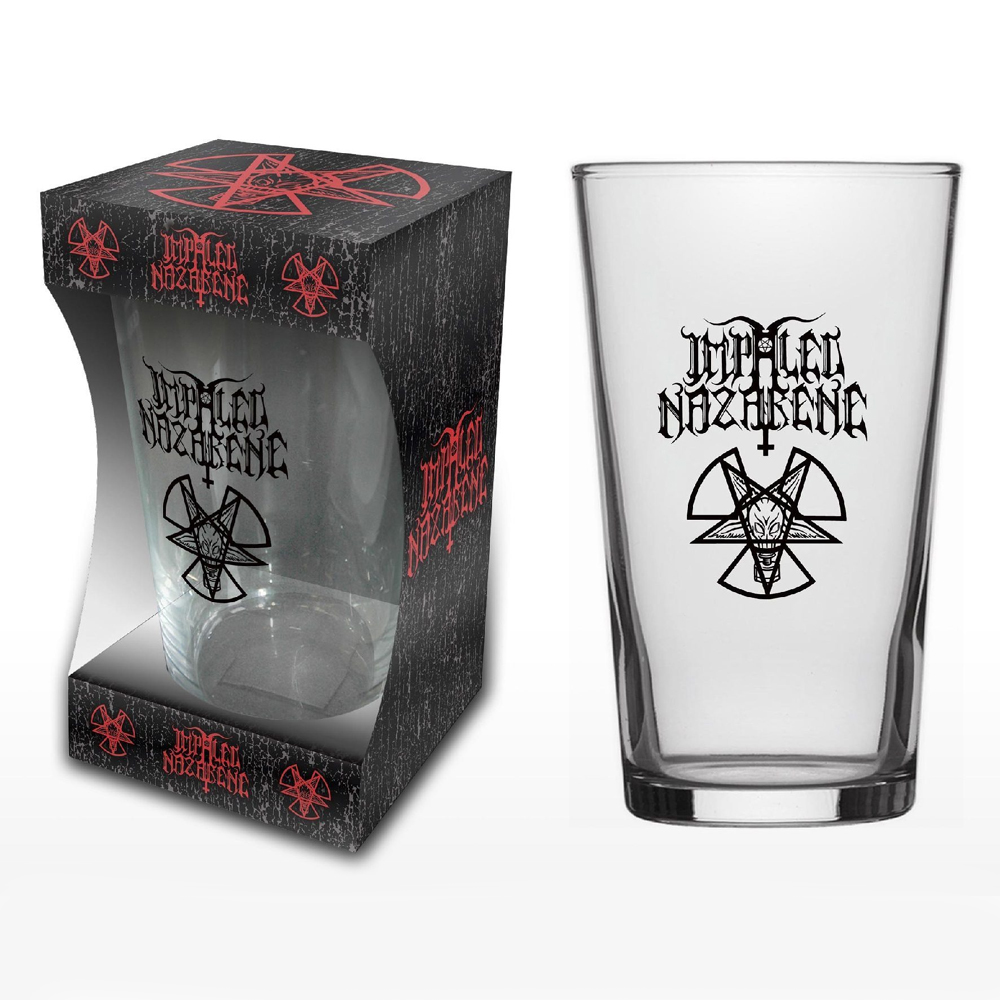 Impaled Nazarene - Nuclear Pentagram (Beer Glass)