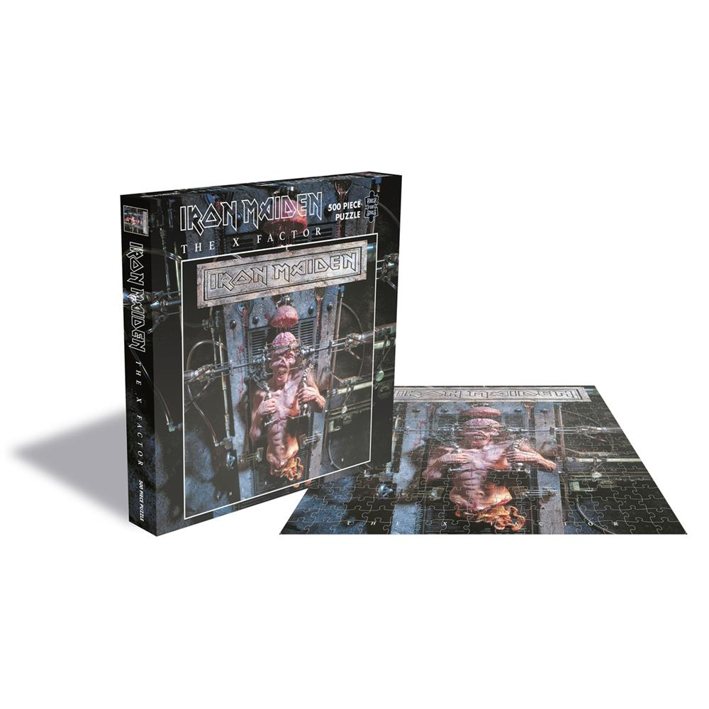 Iron Maiden - The X Factor (500 Piece Puzzle)