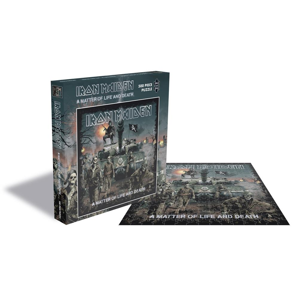 Iron Maiden - A Matter Of Life And Death (500 Piece Jigsaw Puzzle)