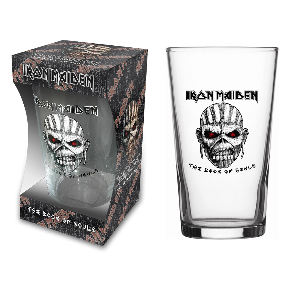 Iron Maiden - Book Of Souls (Beer Glass)