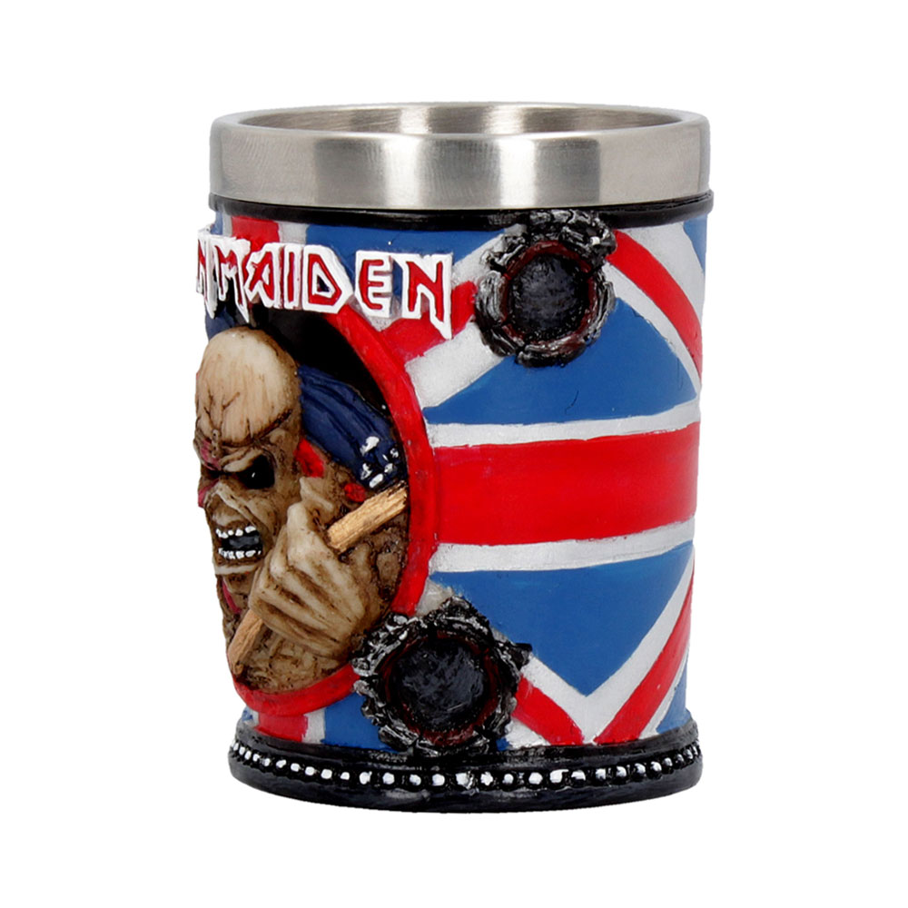 Iron Maiden - Handcrafted Shot Glass
