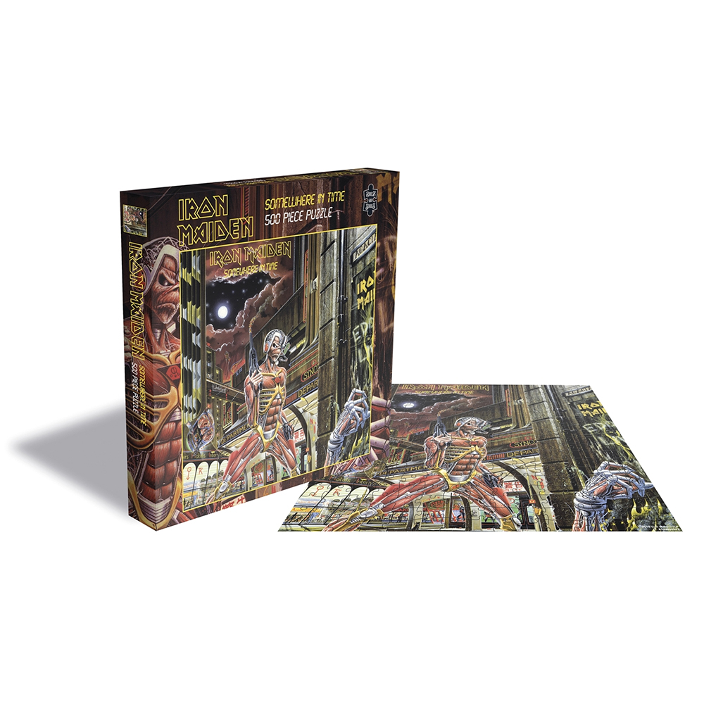 Iron Maiden - Somewhere In Time (500 Piece Jigsaw Puzzle)