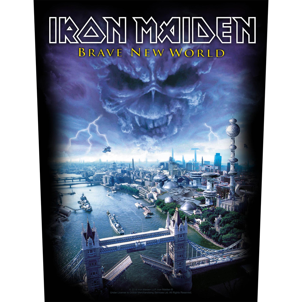 Iron Maiden - Brave New World (Backpatch)