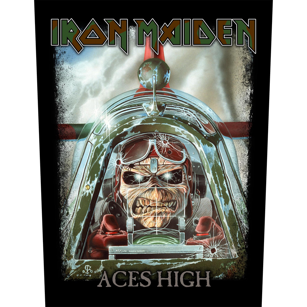 Iron Maiden - Aces High (Backpatch)