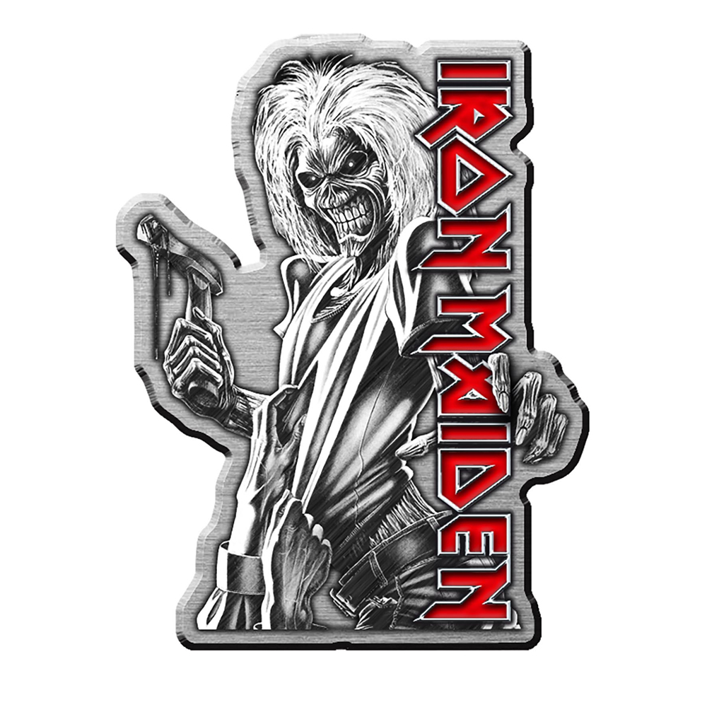 Iron Maiden - Killers (Metal Pin Badge)