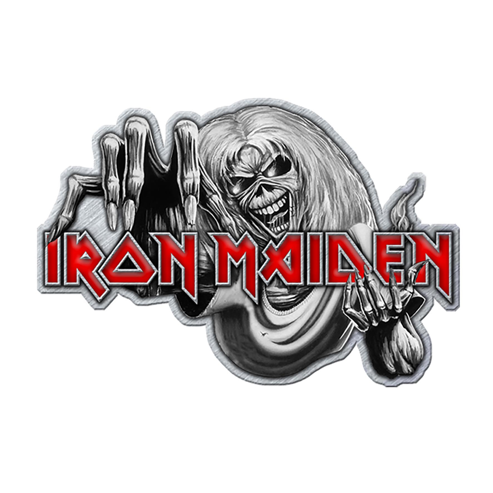 Iron Maiden - Number Of The Beast (Metal Pin Badge)