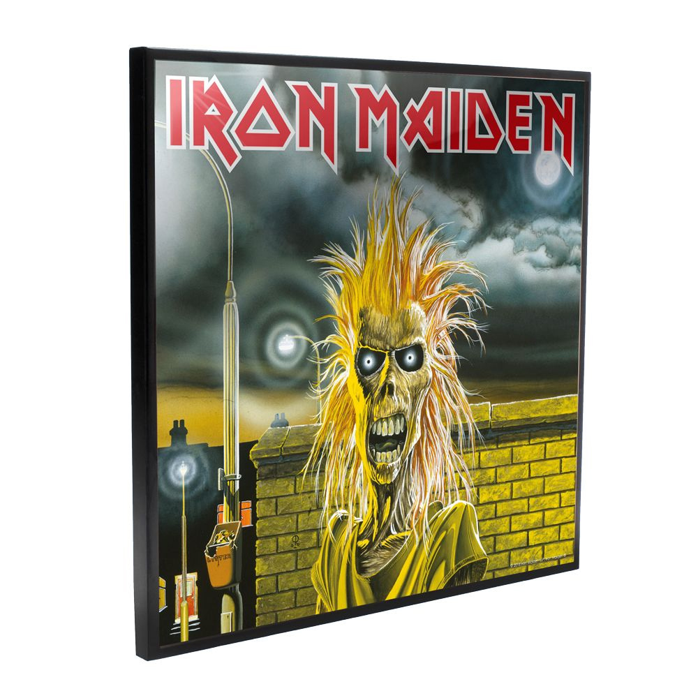 Iron Maiden - Iron Maiden Self-Titled Album Cover (Crystal Clear Wall Art)