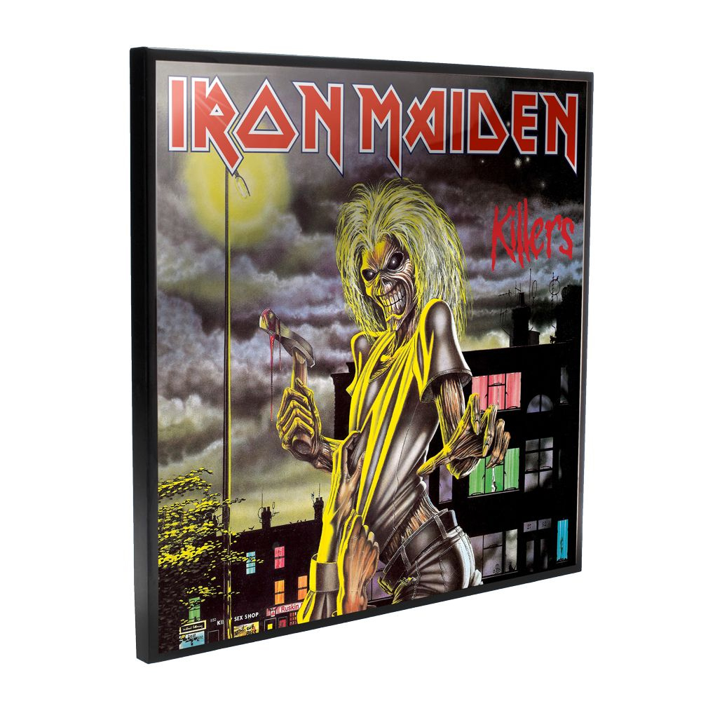 Iron Maiden - Killers Album Cover (Crystal Clear Wall Art)