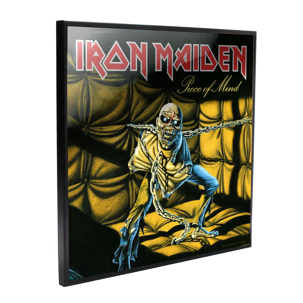 Iron Maiden - Piece of Mind Album Cover (Crystal Clear Wall Art)