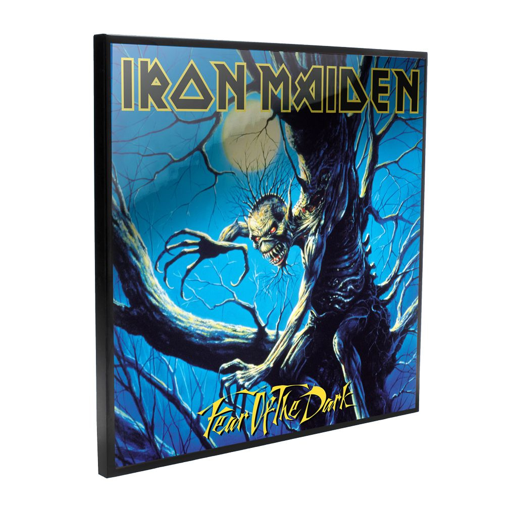 Iron Maiden - Fear Of The Dark Album Cover (Crystal Clear Wall Art)