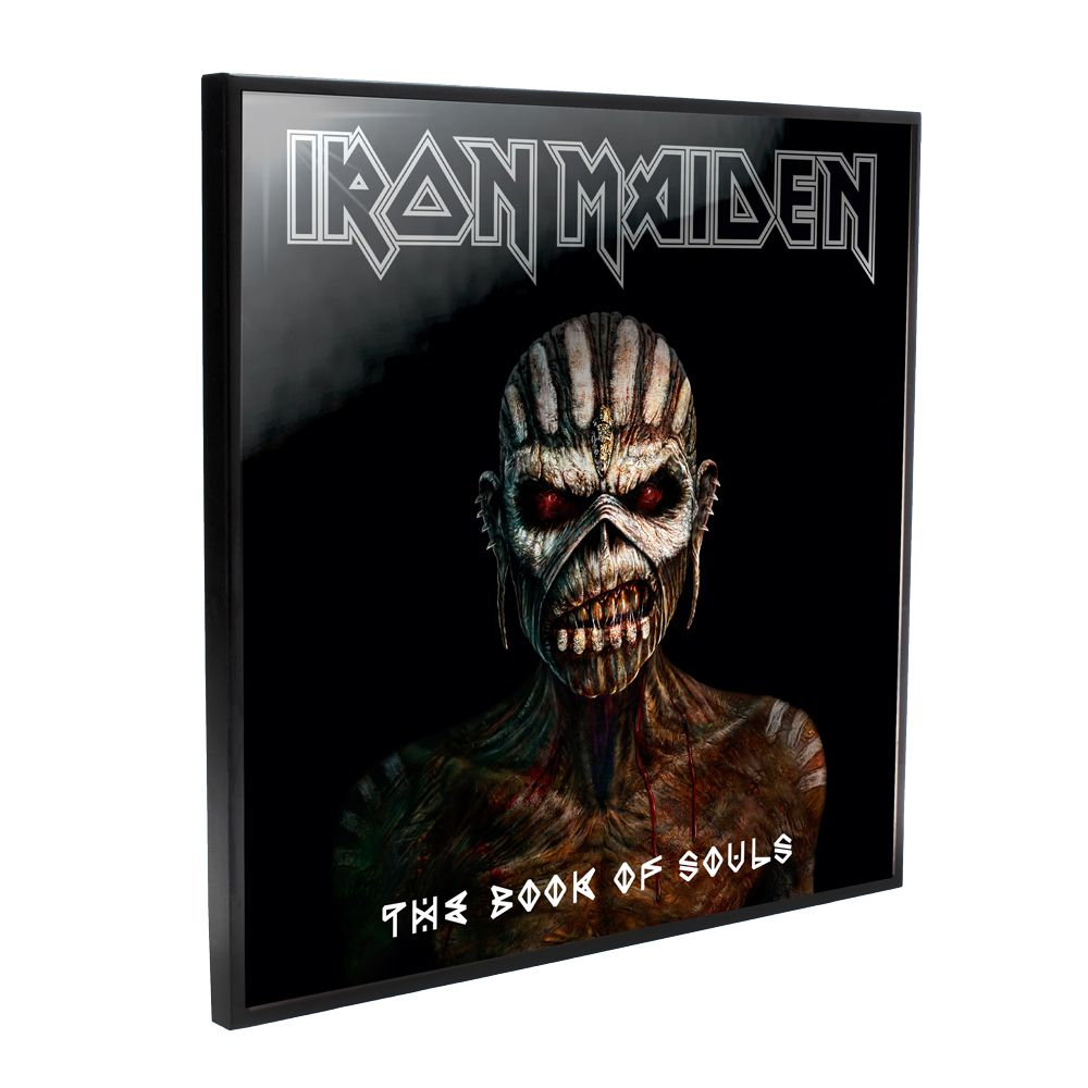 Iron Maiden - The Book Of Souls Album Cover (Crystal Clear Wall Art)