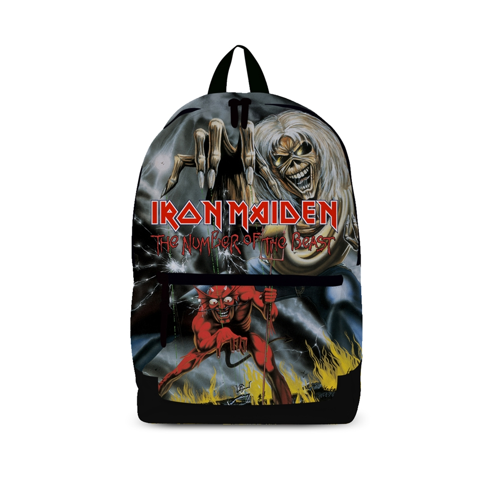 Iron Maiden - Number Of The Beast  (Rucksack)
