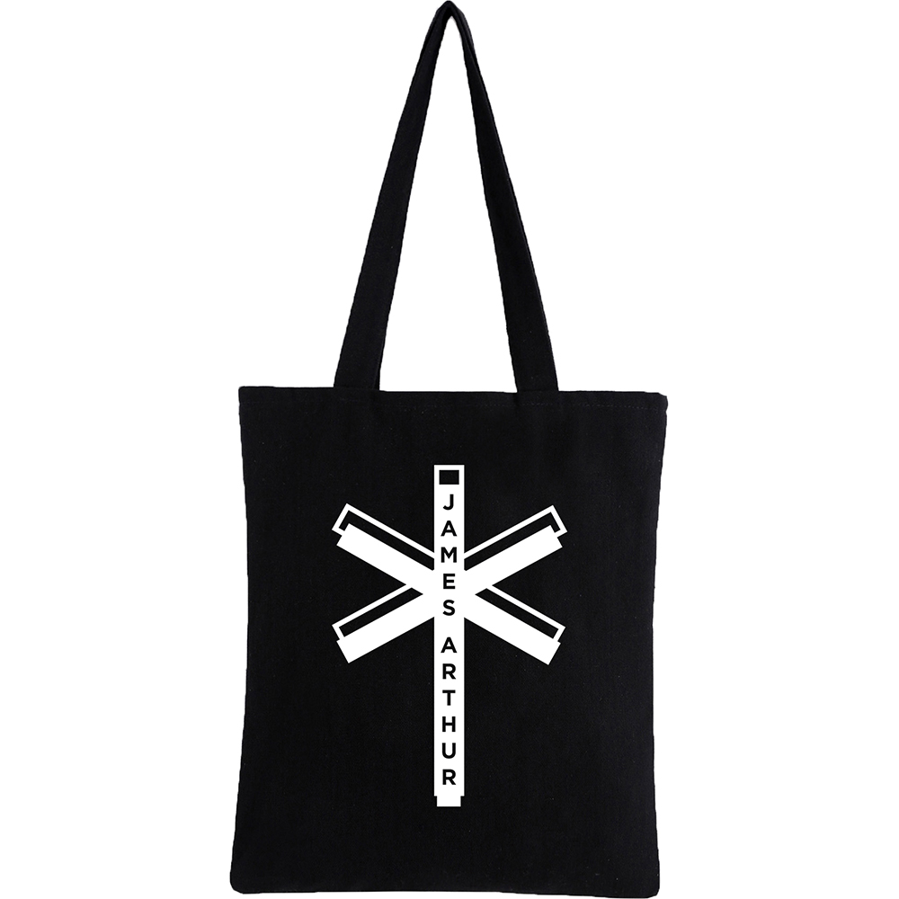 James Arthur - Black Tote Bag