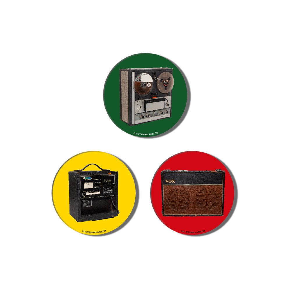 Joe Strummer - Archive Badge Set #2