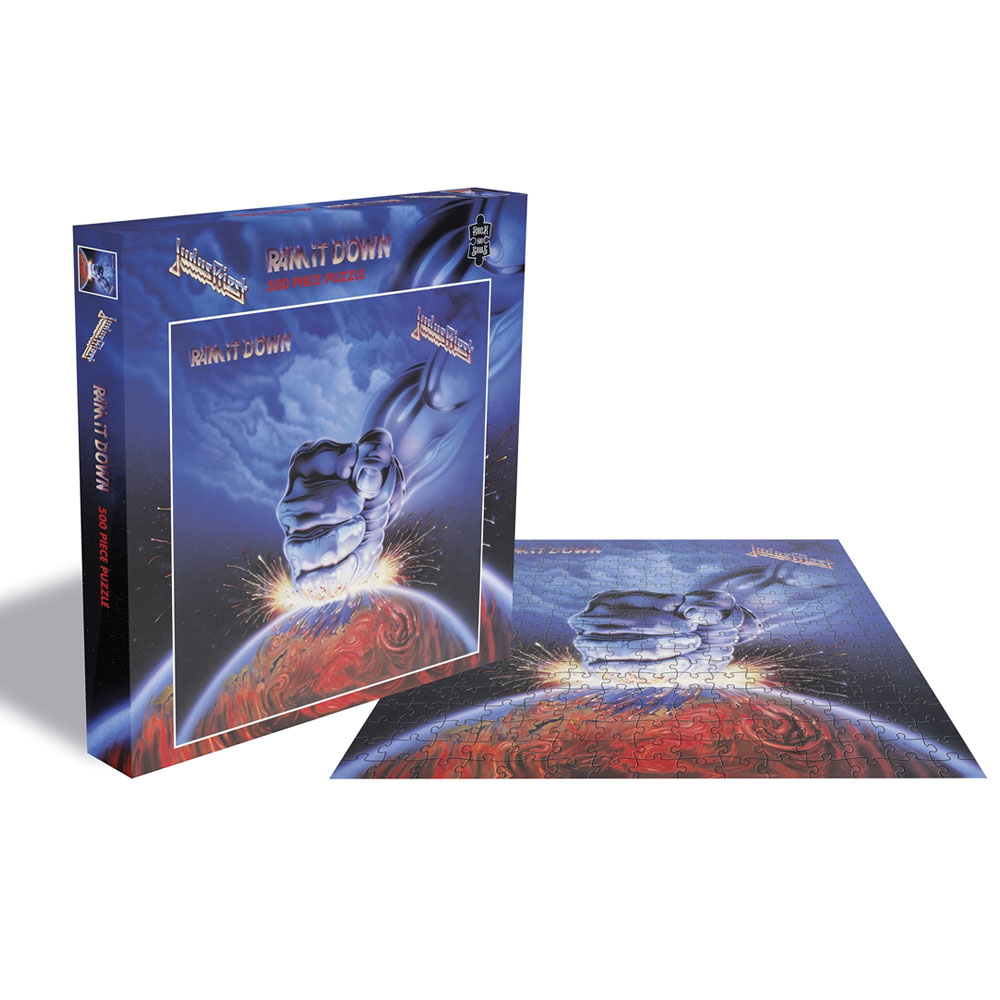 Judas Priest - Ram It Down (500 Piece Jigsaw Puzzle)