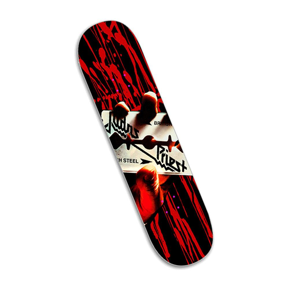 Judas Priest - British Steel Skate Deck