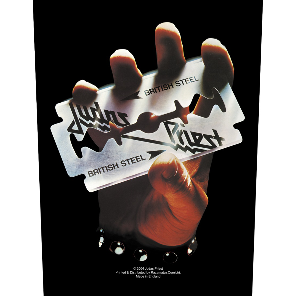 Judas Priest - British Steel Back Patch