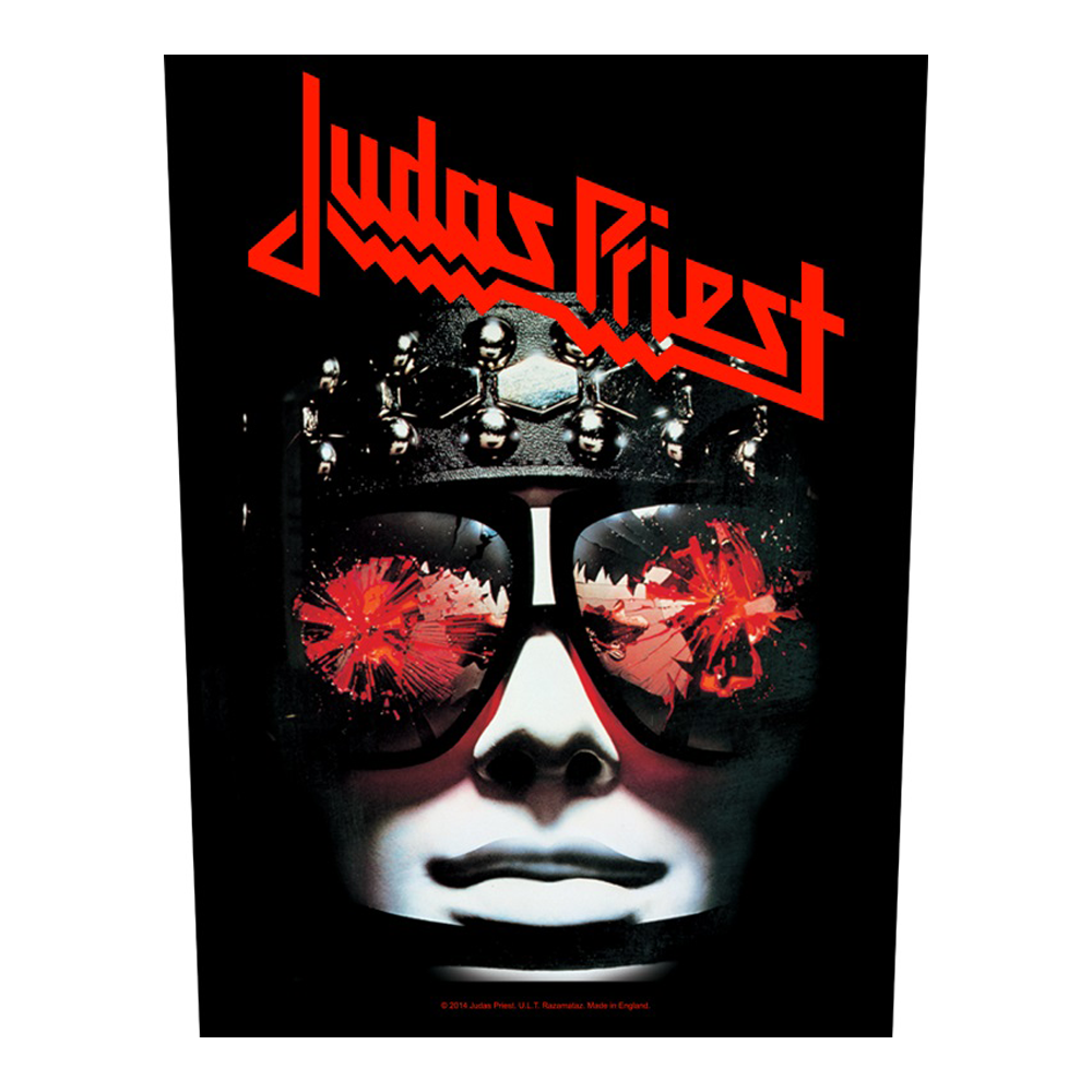 Judas Priest - Hell Bent For Leather Back Patch