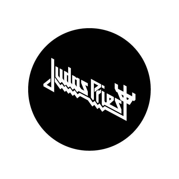 Judas Priest - Logo (White)