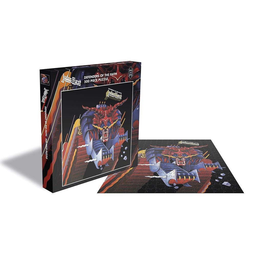 Judas Priest - Defenders Of The Faith (500 Piece Jigsaw Puzzle)