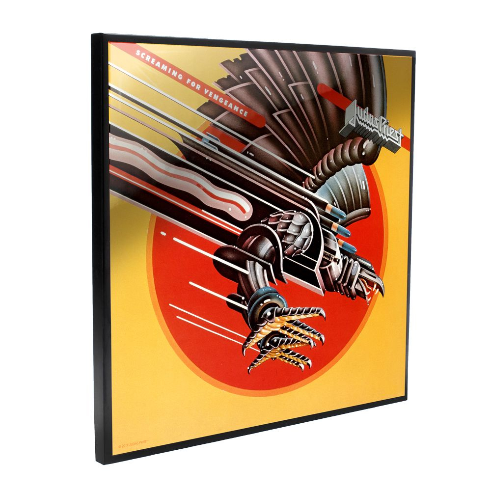 Judas Priest - Screaming For Vengeance Album Cover (Crystal Clear Wall Art)