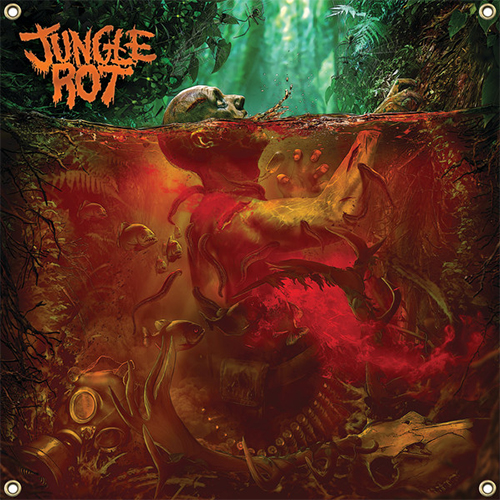 Jungle Rot - Jungle Rot Flag (USA Import)