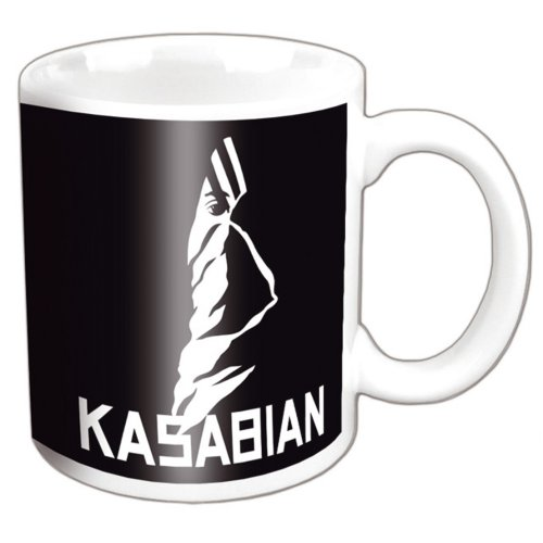 Kasabian - Ultra Face Logo (White)