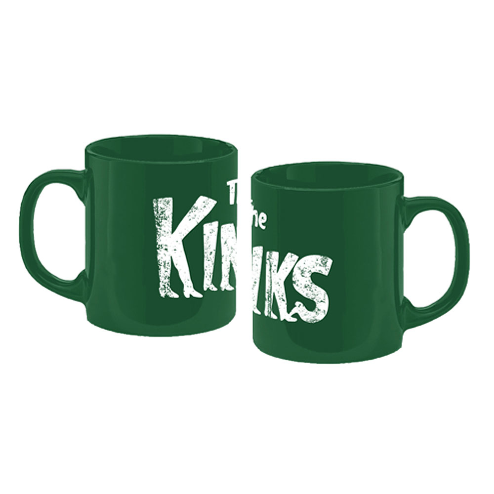 The Kinks - Kinky Boots Logo Mug (Green)