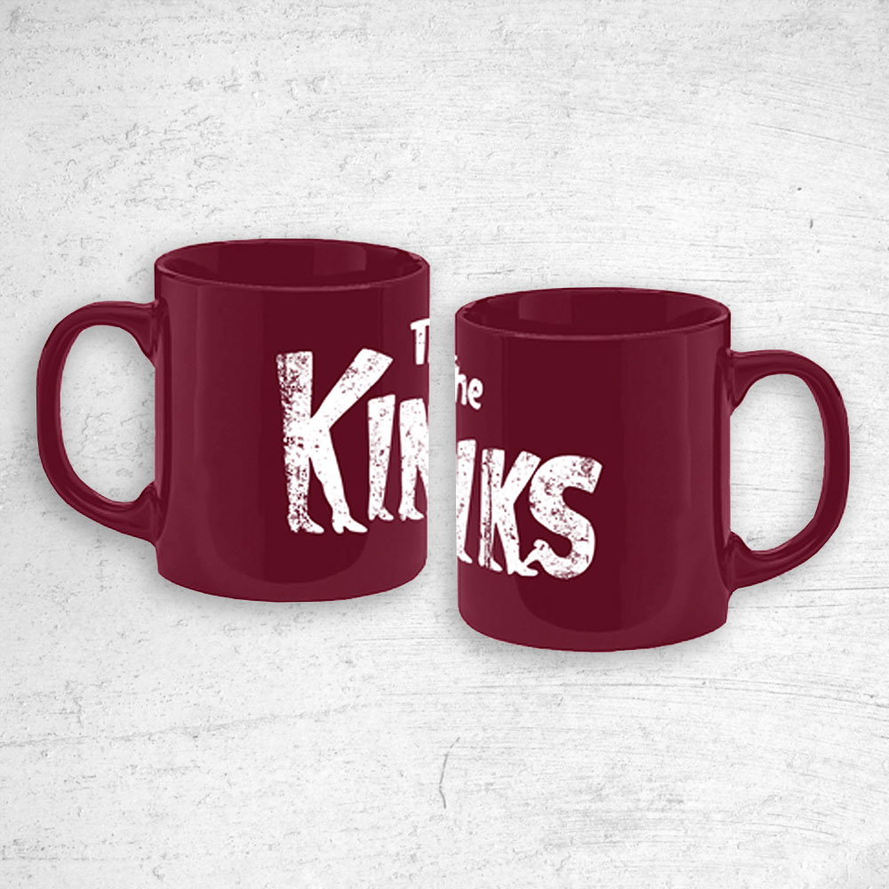The Kinks - Kinky Boots Logo Mug (Burgundy)