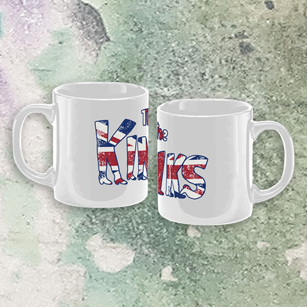 The Kinks - Kinky Boots Logo Mug (White)