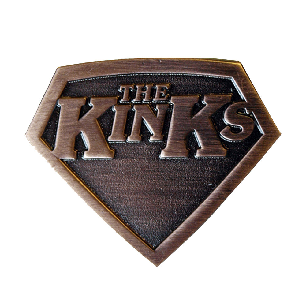 The Kinks - Super Kinks Metal Badge