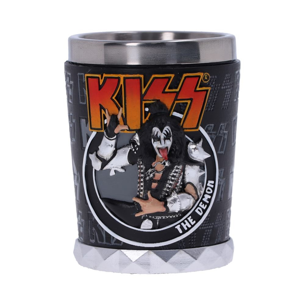 Kiss - FLAME RANGE - THE DEMON (SHOT GLASS)