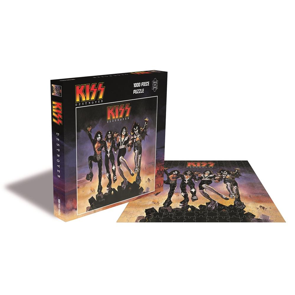 Kiss - Destroyer (1000 Piece Jigsaw)
