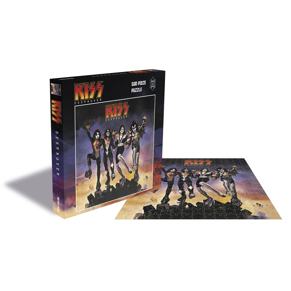Kiss - Destroyer (500 Piece Jigsaw)