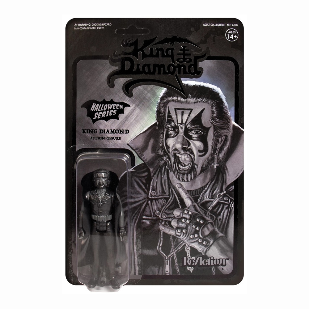King Diamond - King Diamond (Black ReAction Figure)