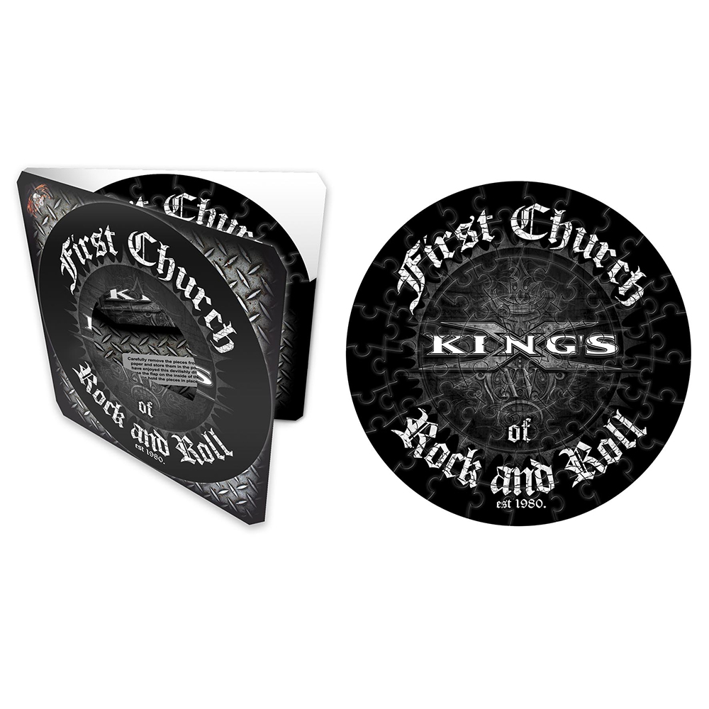 Kings X - First Church (72 Piece Jigsaw Puzzle)