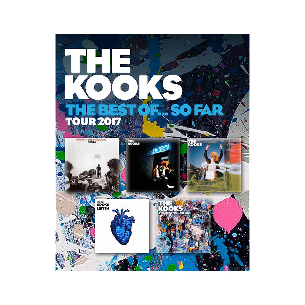 The Kooks - Badge Set