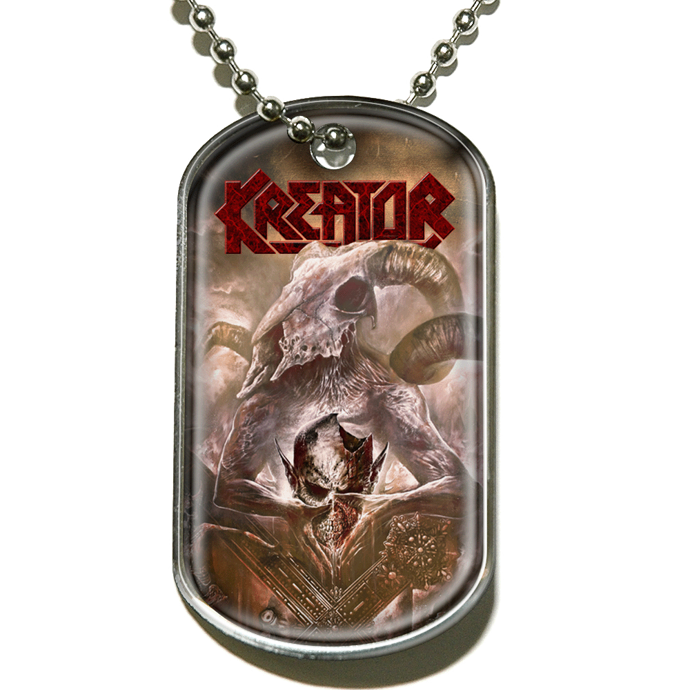 Kreator - Gods Of Violence (Dog Tag)