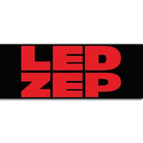 Led Zeppelin - Red Led Zep (Black)