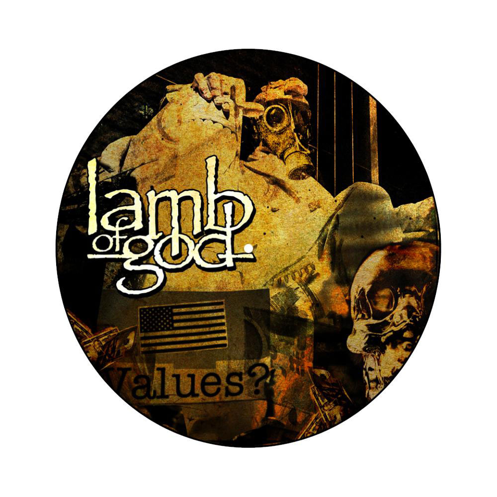 Lamb Of God - Album Collage Slipmat